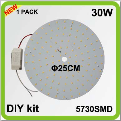 2 year warranty DIY kits 30W round LED down light surface mounts disk led techo PCB led plate circular tube=80w 2D tube2 year warranty DIY kits 30W round LED down light surface mounts disk led techo PCB led plate circular tube=80w 2D tube
