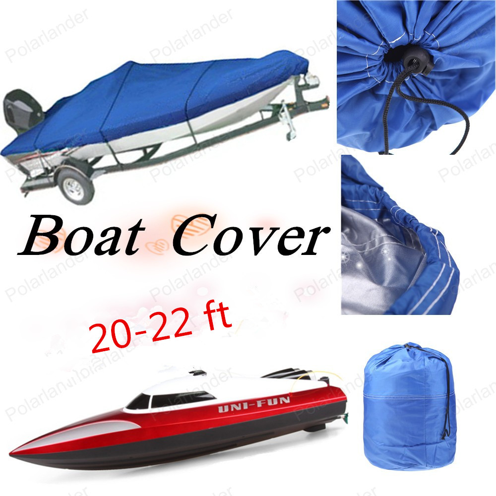 HOT SELL Speed Boat Cover Protected Oxford  210D  For 20 21 22 Ft Beam 100'' High Quality Boat Cover On Sell