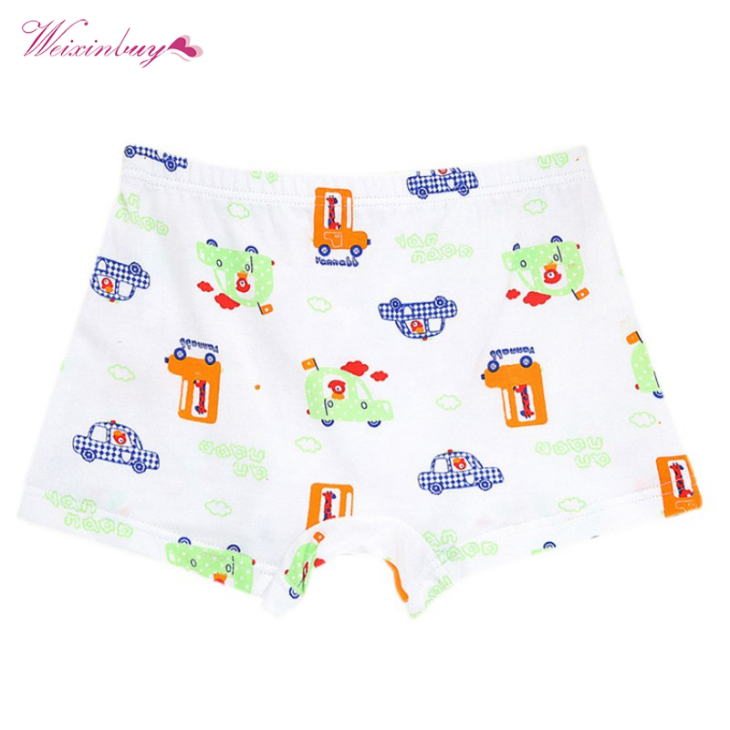Cartoon Boy Panties Children Underwear Kids Briefs Boxer Cotton Breathable Boy Underpant ...