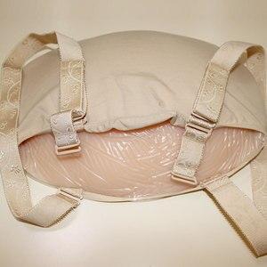 Image 4 - ONEFENG 2000 4600 g/adet silikon bez çanta göbek sahte göbek çapraz Dresser için güzel sahte hamile
