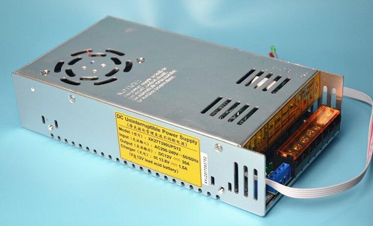 350W UPS charge fonction alimentation à découpage 12v 30a 350W chargeur de batterie 13.8V ac-dc