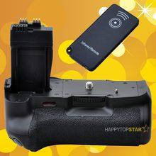 Multi-power Punho de Bateria Vertical para Canon EOS 550D 600D 650D 700D DSLR Para Canon BG-E8 com Controle Remoto Infravermelho