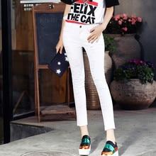 2016 новый American apparel мама джинсы белые джинсы рваные джинсы для женщин плюс размер джинсы женщина джинсовые pantalones mujer rotos