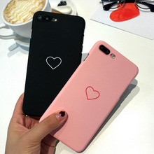 Lovers Heart Phone Case For iphone 7