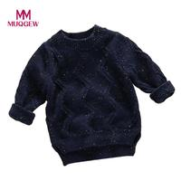 秋冬セーター赤ちゃんニット2017ファッションカジュアル幼児の男の子のセーター綿プルオーバー赤ちゃん女の子セーター熱い販売# JD450