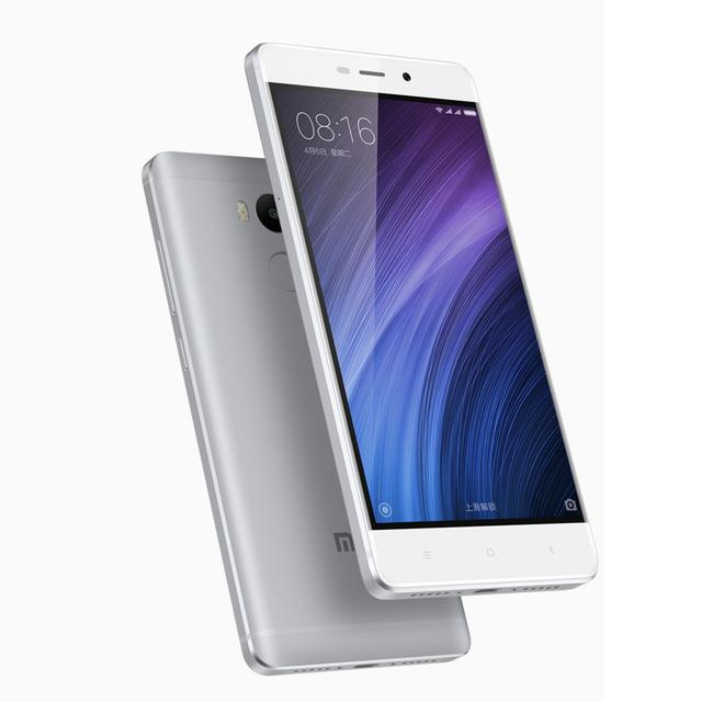 Original Xiaomi Redmi 4 Mobile Phone 2GB RAM 16GB ROM  Snapdragon 430 Octa Core CPU 5 inch 13.0mp Fingerprint  ID MIUI 8.1