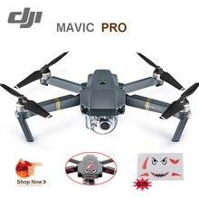 Stokta dji mavic pro gimbal stabilize kamera rc quadcopter 4 k kamera drone selfie fpv gps mini için 12mp film fotoğrafçı