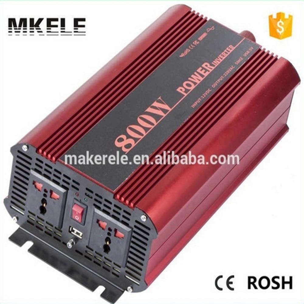 MKP800-241R низкой цене 800 Вт инвертор чистая синусоида 24 В постоянного тока для 120 В переменного тока инвертор для дома, используя с USB 5В выходом