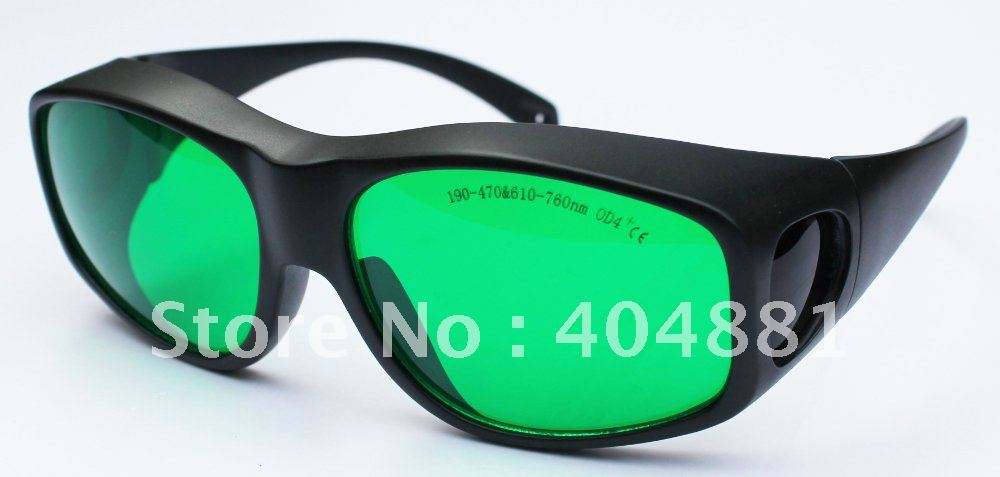 все цены на laser safety goggles 190-470nm & 610nm-760nm O.D 4+ CE certified with new frame 9C онлайн