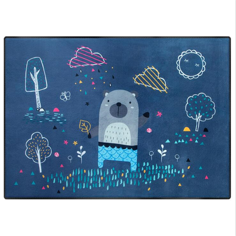 150X200 cm Polyester plus épais doux tapis pour salon Kid chambre tapis maison tapis plancher porte tapis enfants chambre escalade zone tapis