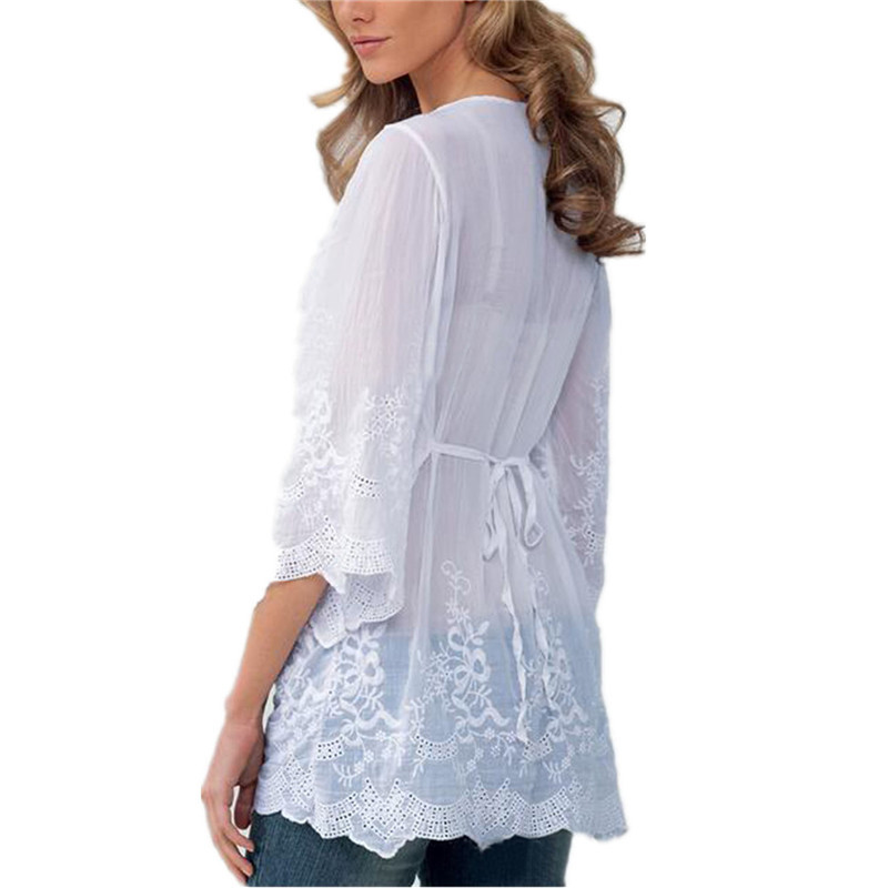 Женские блузки и Рубашки 2016 V