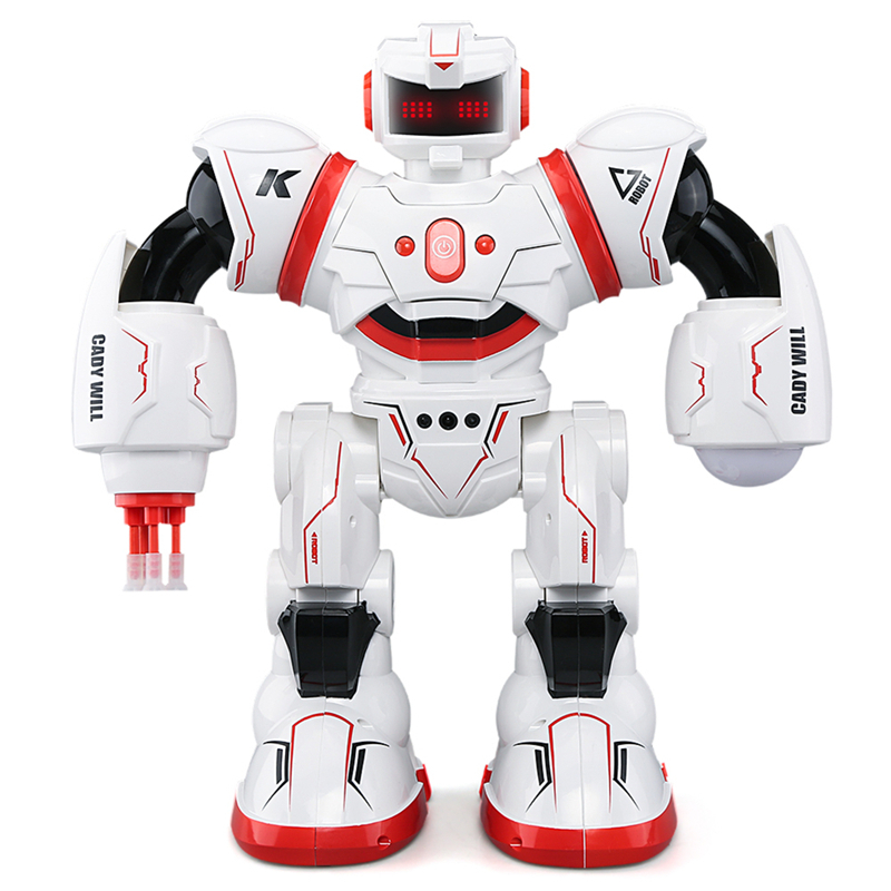 купить MINOCOOL JJRC R3 Remote Controlled Intelligent Sensing Robot with Lights and Extra long Standby Time недорого