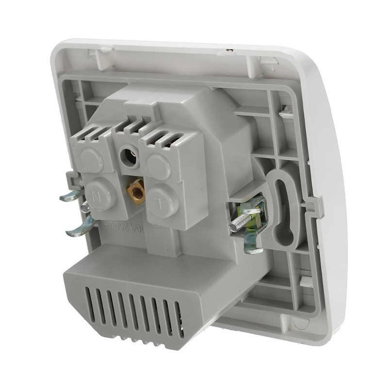 Double USB Port chargeur mural adaptateur de charge 2A chargeur mural adaptateur EU prise de courant panneau de prise de courant mis à la terre électrique