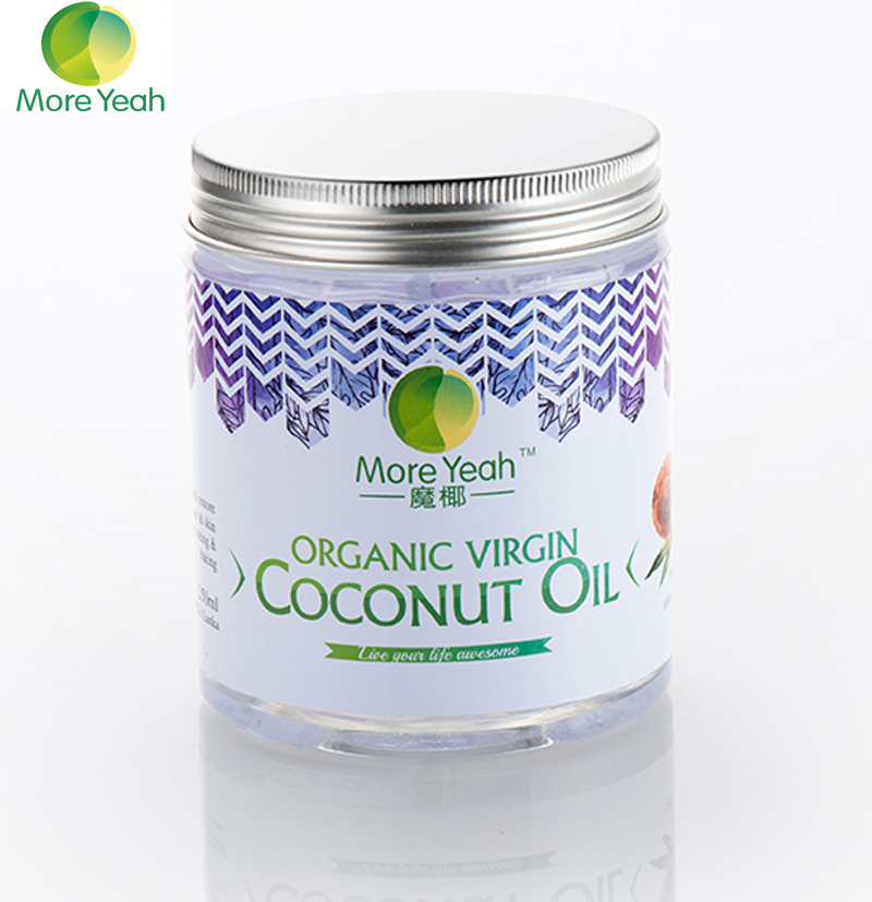 180ML VIRGIN Coconut Oil Extract Cold Pressed Natural Healthy Oil for Aromatherapy Hair&<font><b>Skin</b></font> Care /Makeup Remover/Body Massage