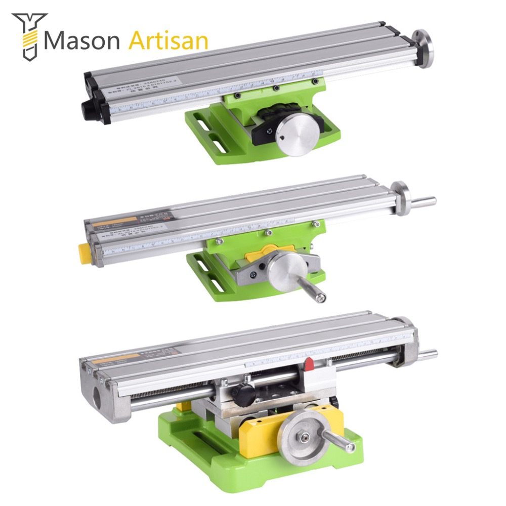 Multi-Function Woodworking Bench Clamp Cross Work Table Multi Tool Workbench Power Tool Accessories for Bench Drill