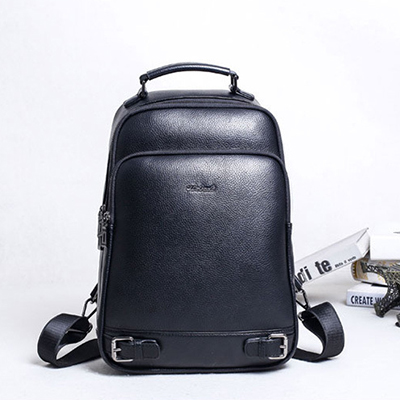 Men Backpacks 100% Genuine Leather Men's Travel Bag Fashion Man Backpack Casual Business Backpack Male Backpack mochila escolar genuine leather men backpacks for man laptop travel backpack fashion man backpack business cowhide leather male back pack page 1