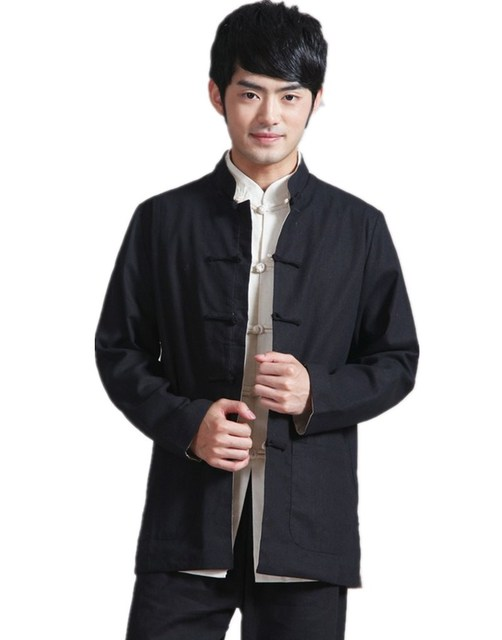 Shanghai Story Two Side revisiable chinese traditional Two-sided wear mandarin collar Jacket Linen chinese  sc 1 st  AliExpress.com & Shanghai Story Two Side revisiable chinese traditional Two sided ...