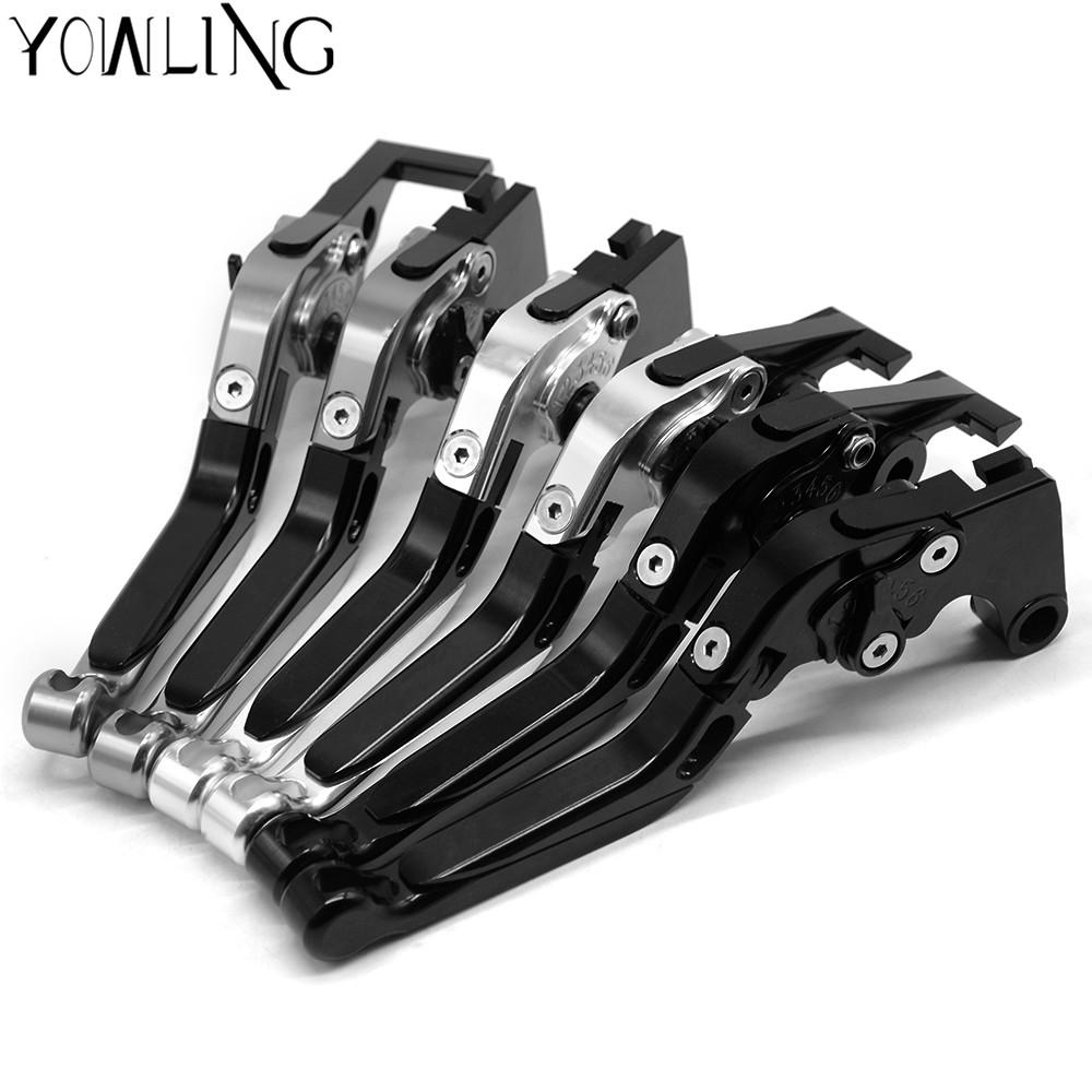 For Honda CB599 CB600F HORNET 600 1998 2006 Foldable Extendable Brake Clutch Levers CNC 1999 2000 2001 2002 2003 2004 2005
