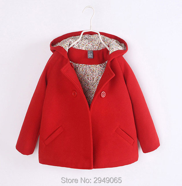 Girl's woollen coat, autumn/winter south Korean edition, cotton and cotton, and the baby coat autumn and winter coat for women a new autumn winter coat for women