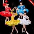 New Girls Pancake Tutus Dance Costumes Kids Swan Lake Dancewear Children Professional Platter Tutu Ballet Dress