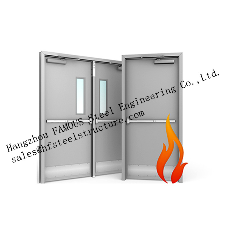 Residential Steel Fire Resistant Industrial Garage Doors With Remote Control