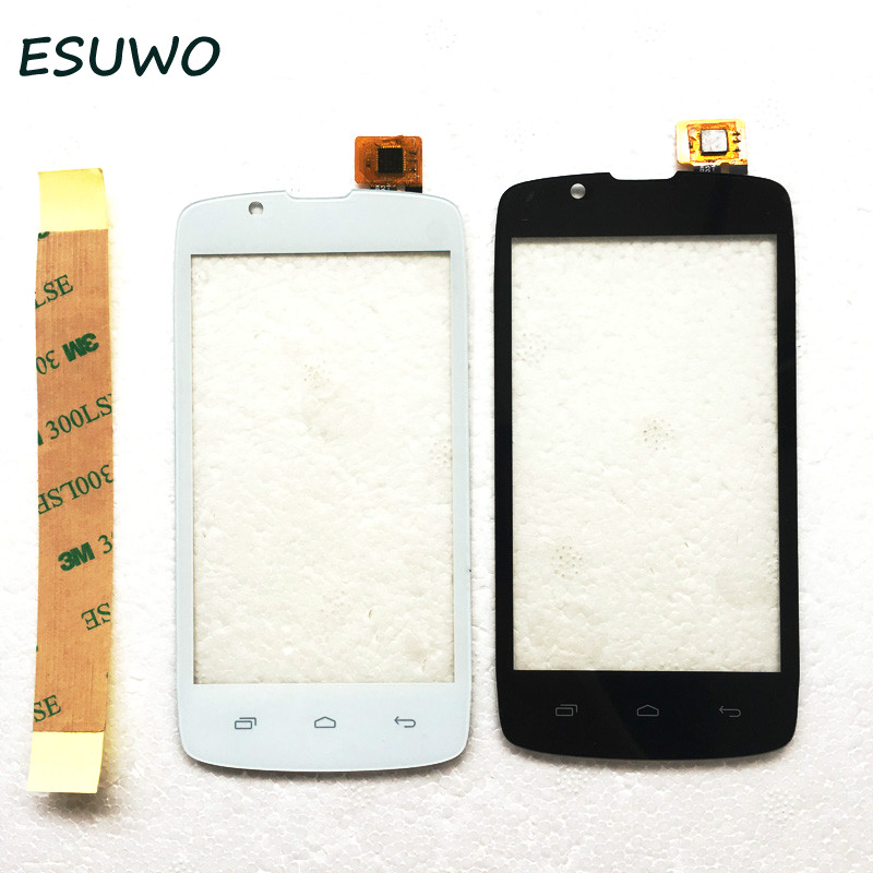 ESUWO Touch Screen For Fly IQ4490 ERA Nano 4 Touch Panel Glass Digitizer Front Lens Sensor Touchscreen 2 Color ...
