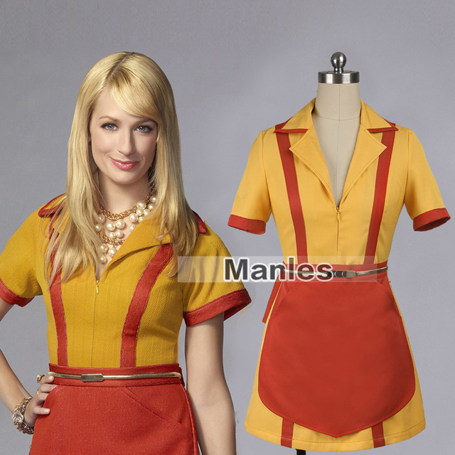 Tv Show 2 Broke Girls Costume Caroline Channing Costume Max Caroline