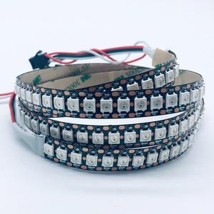 Image 2 - Usb 5v rgb led luz de tira 2812b 144led/m sp110e bluetooth controlador tv backlight sonho cor flash listra decoração