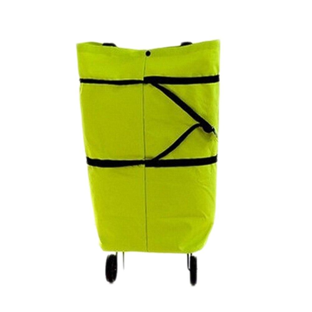 Новый 1 шт. складной буксир мешок автомобиль скрыть колесных сумка натяжения бар корзину тележки хозяйственные сумки Оксфорд сумка подарок