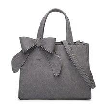 Simple Fashion Women Black Bow Handbag Designer Handbags High Quality Women Bag Over Shoulder Brand Bag Pink messenger bags