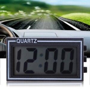 Мини цифровые часы для автомобиля, ЖК-дисплей, авто электронный таймер, приборная панель, дата, время, календарь, грузовик, украшение автомоб...