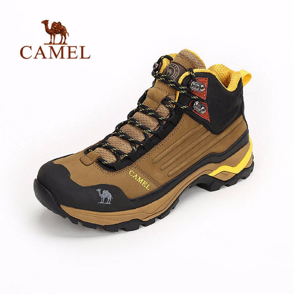 Camel 2016 Hiking Shoes Non-slip Men Wear-resistant Waterproof Hiking shoes  Outdoor Climbing