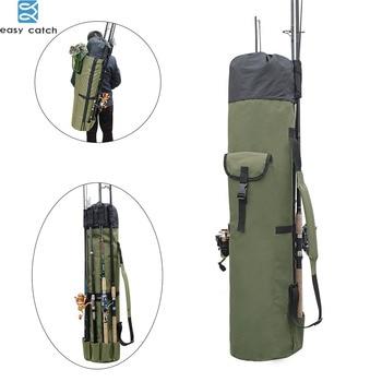 Fishing Rod Bag Carrier Fishing Reel Organizer Pole Fishing Storage Bag and Travel Case