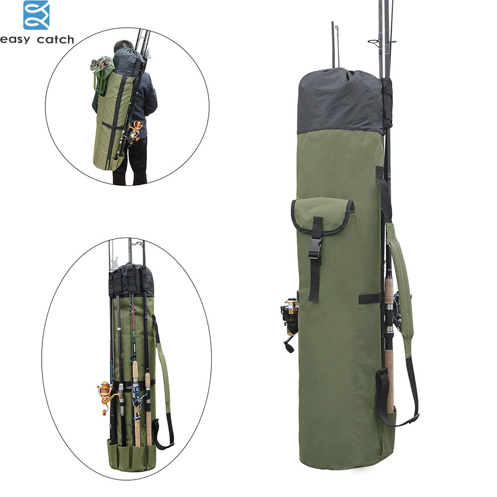 Fishing Rod bag Carrier Fishing Reel Organizer Pole Storage Bag for Fishing and Traveling case