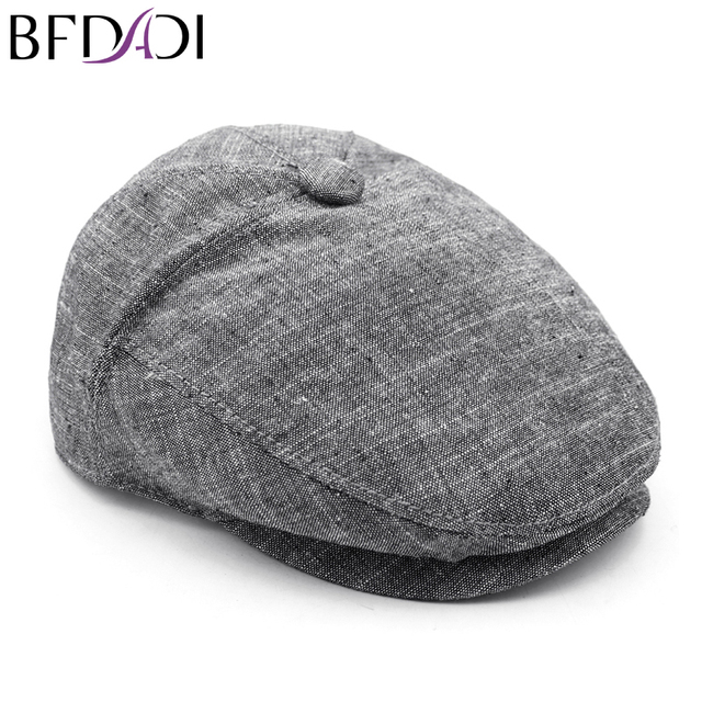 16b355708 US $6.99 50% OFF|BFDADI 2018 Vintage Hat Women's And Men's Spring Newsboy  Cap New Casual Cap For Men Size 57 58 59 60 Free Shipping-in Newsboy Caps  ...