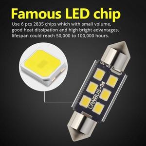 Image 5 - NAO 10x C5W LED Festoon CANBUS 28mm 41mm 44mm 39mm 31mm 36mm C10W led Bulb No Error 12V car interior light Reading singal lamp