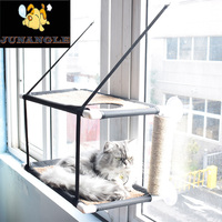 Best Selling Soft Breathable Comfort Cat Pet Bed Suction Cup Hanging Pet Hammock Cat Window Frame Pet Nest Cat Puppy Hammock