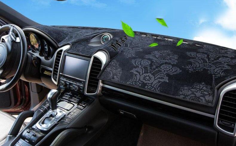 Tapis de bord en flanelle pour Suzuki SX4 s-cross 2013 2015 2016 nissan patrouille y62 housses de tableau de bord tapis de bord accessoires de tapis de voiture