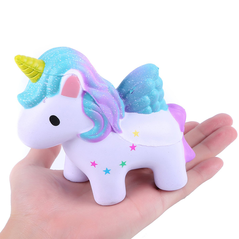 New Colorful Galaxy Unicorn Squishy Cartoon Doll Slow Rising Simulation Bread Cake Scented Stress Relief funny for Kid GiftNew Colorful Galaxy Unicorn Squishy Cartoon Doll Slow Rising Simulation Bread Cake Scented Stress Relief funny for Kid Gift