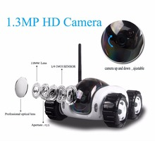 2016 Wireless WIFI Internet P2P RC HD IP Camera Car Remote Moving Robot Tank Iphone Android Phone Remote Control