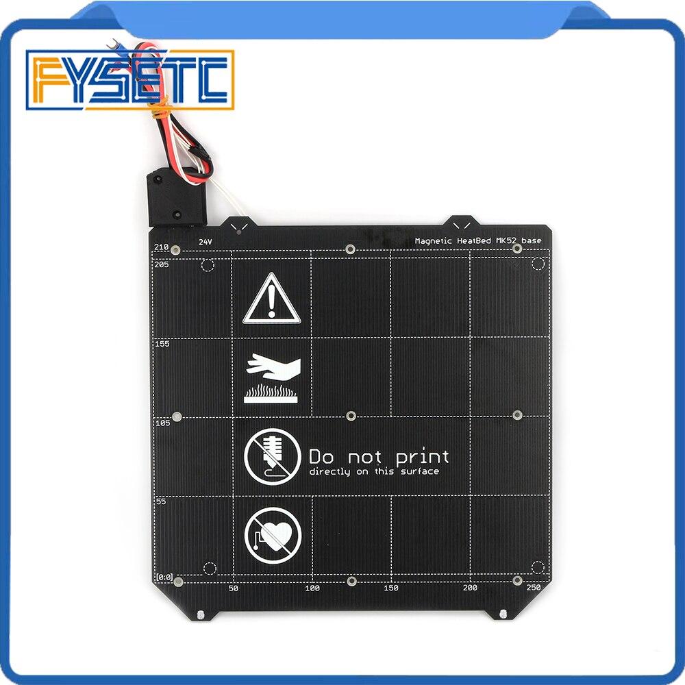 Clone Prusa i3 MK3 3D Printer MK3 Y carriage Magnetic Heated Bed MK52 24v Wiring Thermistor