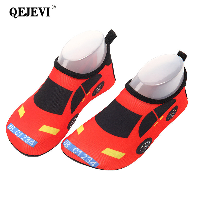 2018 Summer Baby Shoes Girls Boy Barefoot Beach Water Shoes Cartoon Aqua Flat Socks Outd ...