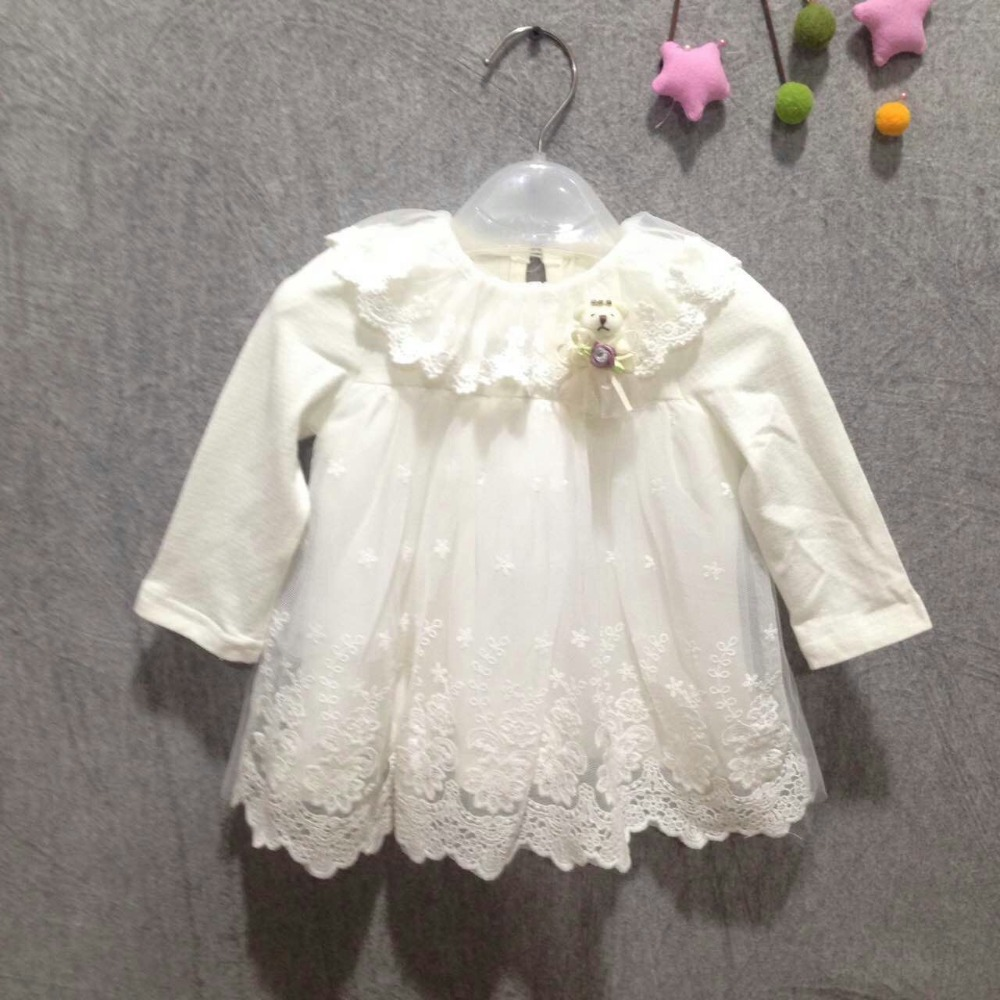 2017-new-girl-dress-European-style-baby-dress-baby-girls-clothes-cotton-baby-girl-christening-gowns-pink-2