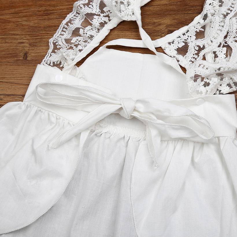 Hooyi Summer Baby Girl Clothes Set Newborn Dress Diaper Cover Pant
