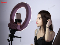 Photographic lamp Ring Lamp Indoor portrait HD soft Light Beauty video makeup skinny face light 14 inch CD50 T03