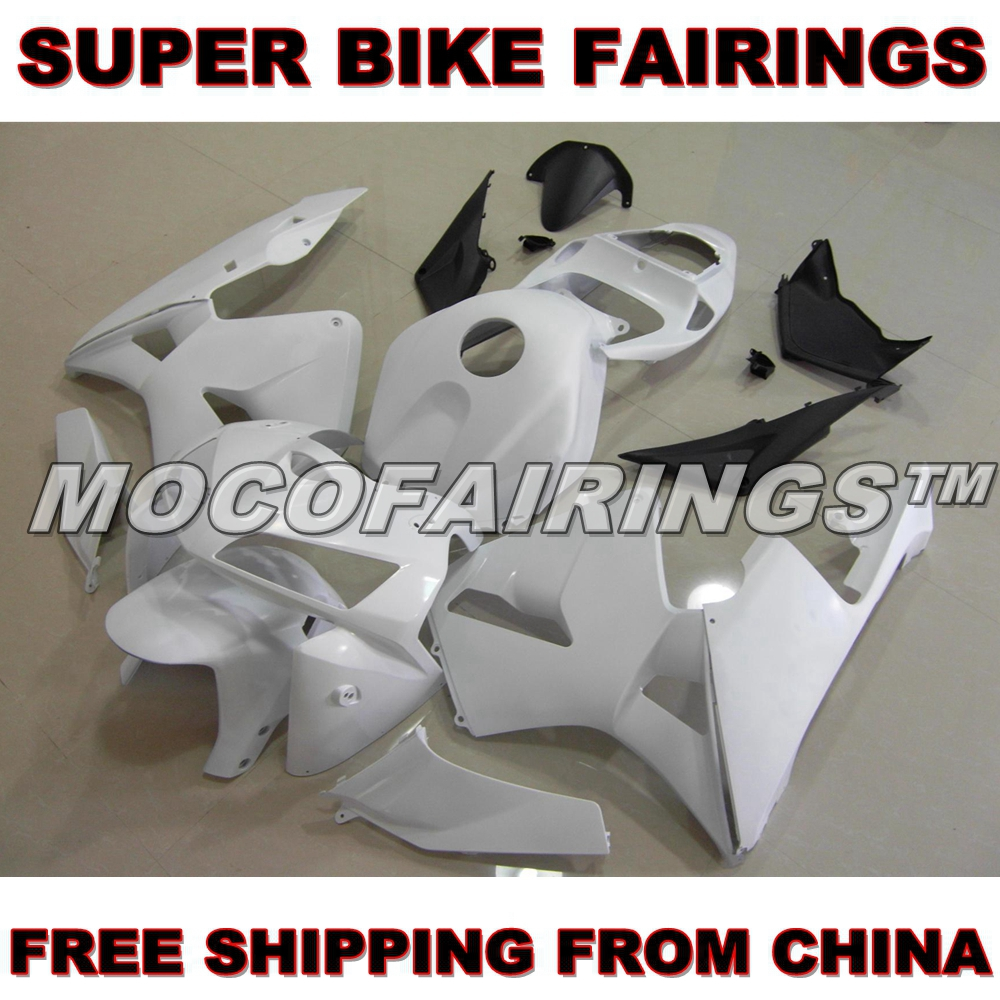 Motorcycle Unpainted ABS Fairing Kit For Honda CBR600RR 2005 2006 Fairings Front Nose Kits Bodywork Pieces hot sales yzf600 r6 08 14 set for yamaha r6 fairing kit 2008 2014 red and white bodywork fairings injection molding