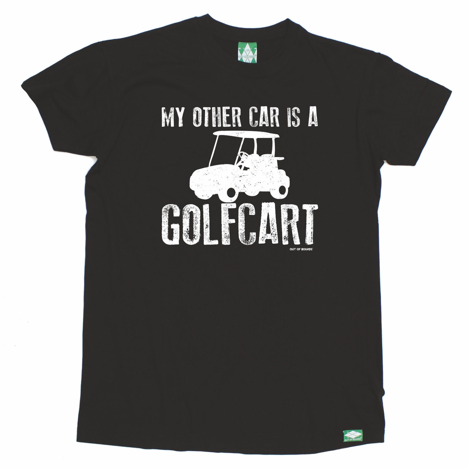 My Other Car Is A Golfcart T-SHIRT Golfing Golfer Humour Funny birthday gift