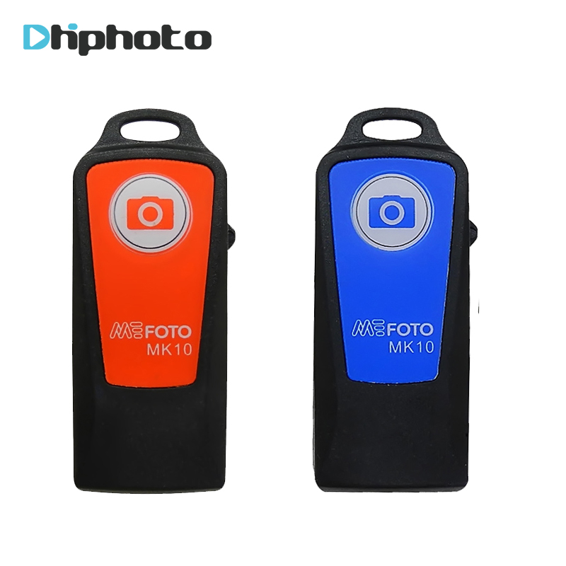 Original Benro Rechargeable Bluetooth Shutter Remote Control for Benro tripod Selfie Stick MEFOTO MK10 in stock