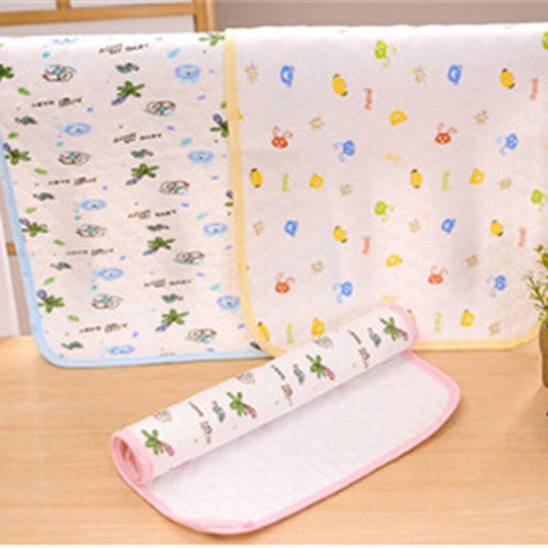 Hot Reusable Nappy Kids Diapers Mattress Waterproof Sheet Changing Mat Cotton Baby Crib Stroller Pram Bed Baby Stroller Pram