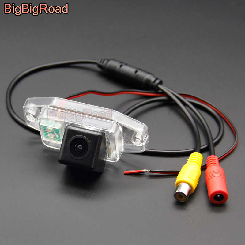 BigBigRoad Car Rear View Camera For <font><b>TOYOTA</b></font> Land Cruiser LC J <font><b>100</b></font> LC100 J100 1998 1999 2000 2001 2002 2003 2004 2005 2006 2007 image